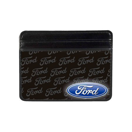 Weekend Wallet - Ford Automobile Company Name Back Blue Logo Weekend Wallet