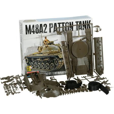 Monogram® M48A2 Patton Tank Plastic Kit