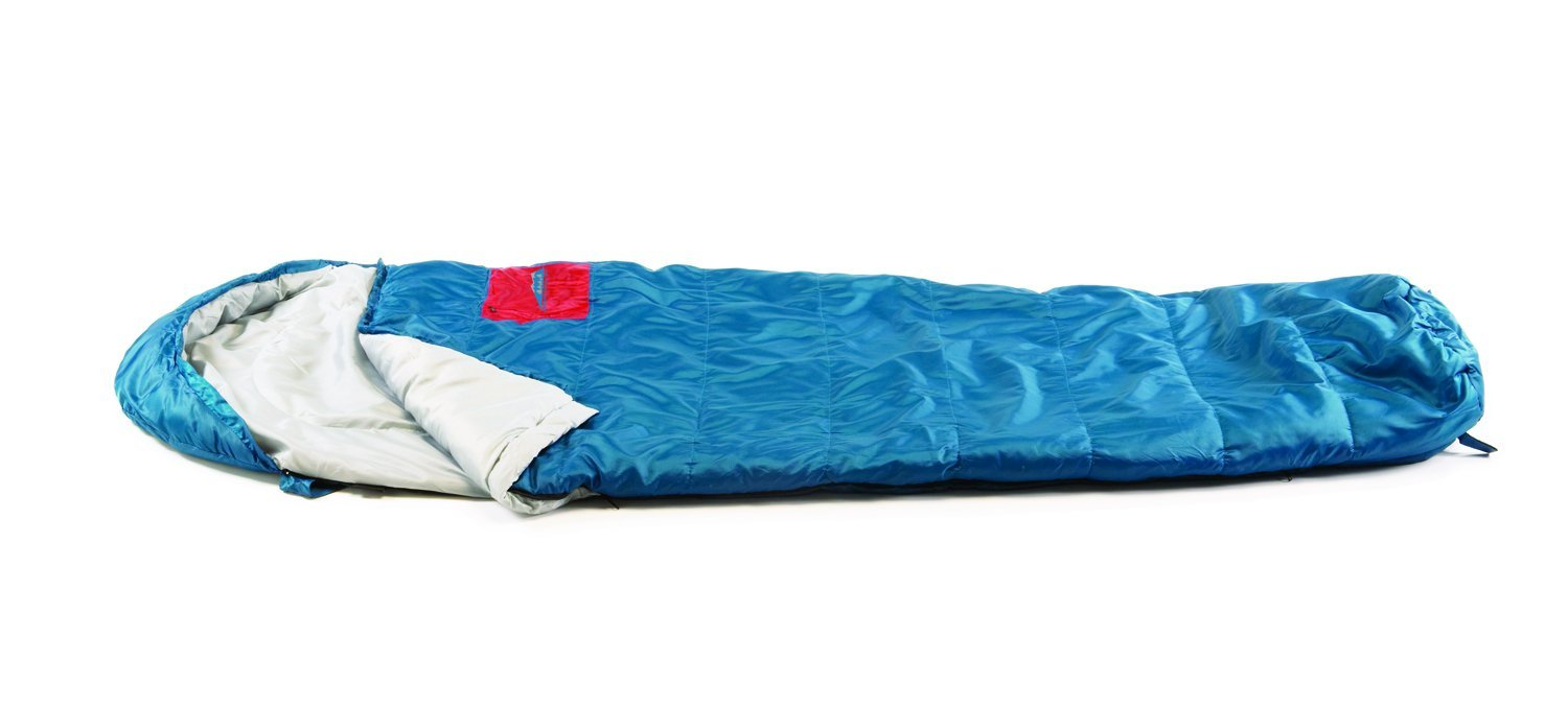 30 Degree Cedar Pass Mummy Sleeping Bag, Fill, Lining, and Outer: 100% Polyester By Texsport by