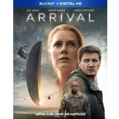 Arrival (Blu-ray + DVD + Digital Copy) (Walmart Exclusive) (With INSTAWATCH) by