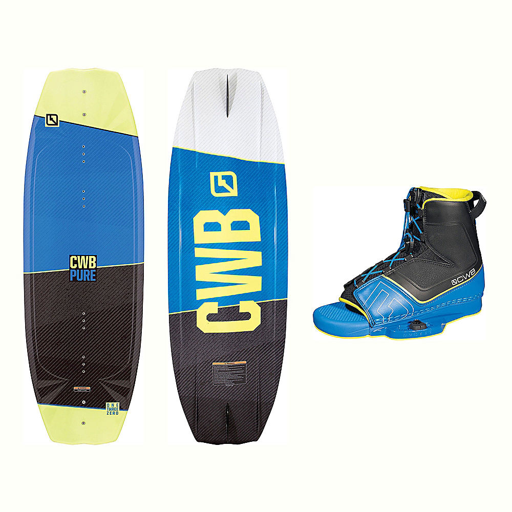 CWB Pure Wakeboard With Venza Bindings 2017 by CWB