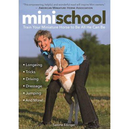 Mini School : Train Your Miniature Horse to Be All He Can Be