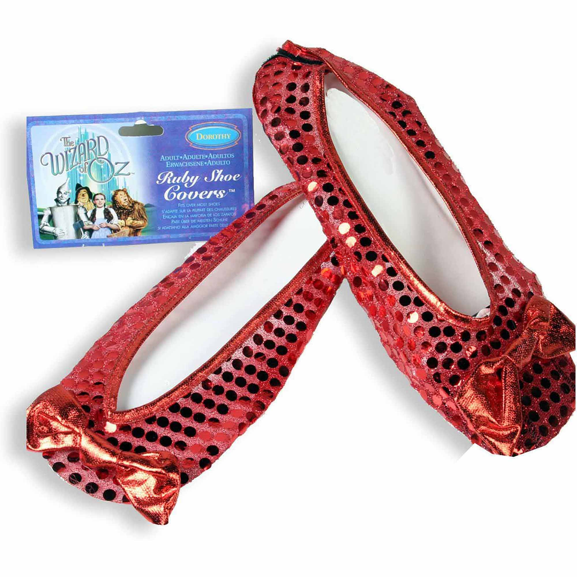 The Wizard of Oz Shoe Covers Adult Halloween Costume Accessory