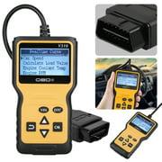 TSV OBD2 Code Readers & Scan Tools Enhanced Car Engine Fault Code OBD Reader Diagnostic Scanner Tool for All OBDII/EOBD Protocol Cars