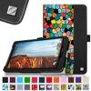 Verizon Ellipsis 8 Case - Fintie Premium Vegan Leather Folio Cover for Verizon Ellipsis 8 4G LTE Tablet, Mosaic