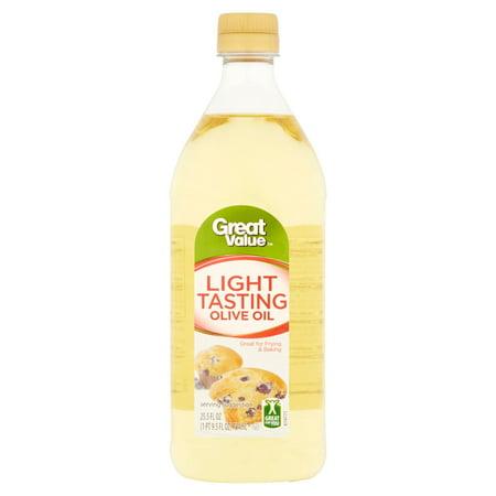 Great Value Light Tasting Olive Oil 25.5 fl oz (Best Tasting Olive Oil For Dipping Bread)