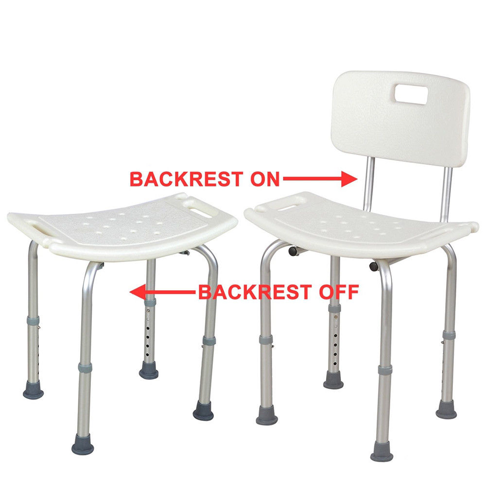 Ktaxon Medical Bath Chair Adjustable Bathtub Chair Bath Bench Shower Stool Backrest Upgrade
