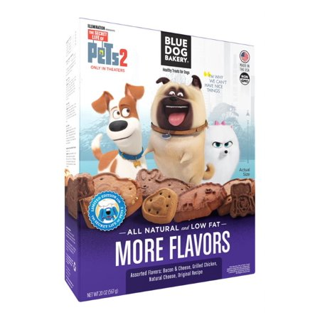 (2 Pack) Blue Dog Bakery Healthy Treats for Dogs More Flavors, 20.0 oz - Halloween Treats For Classrooms