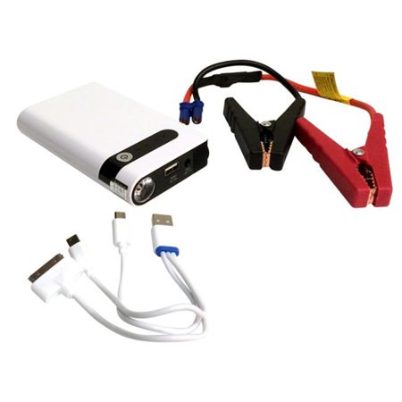 3' Starter - PDE Tech ZipSpin Portable Pocket Power Jump Starter