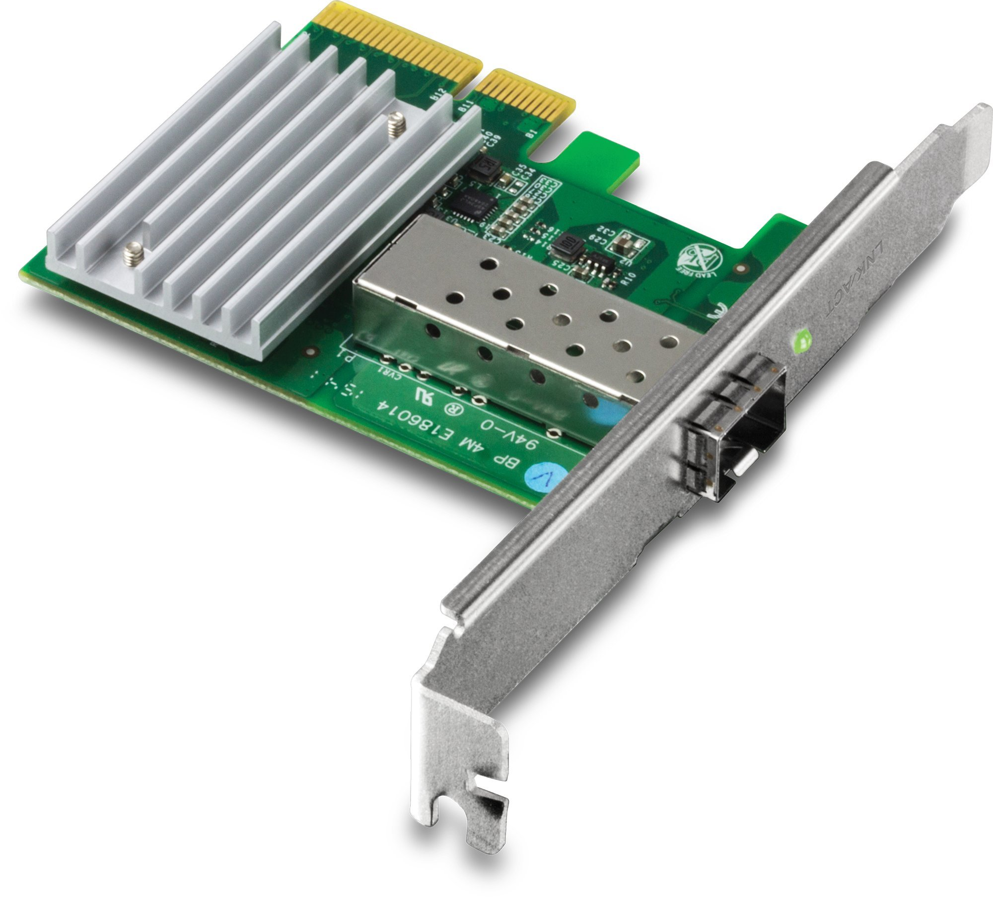 TRENDnet 10 Gigabit PCIe SFP+ Network Adapter - PCI Express 2.0 x4 - 1 Port(s) - Optical Fiber