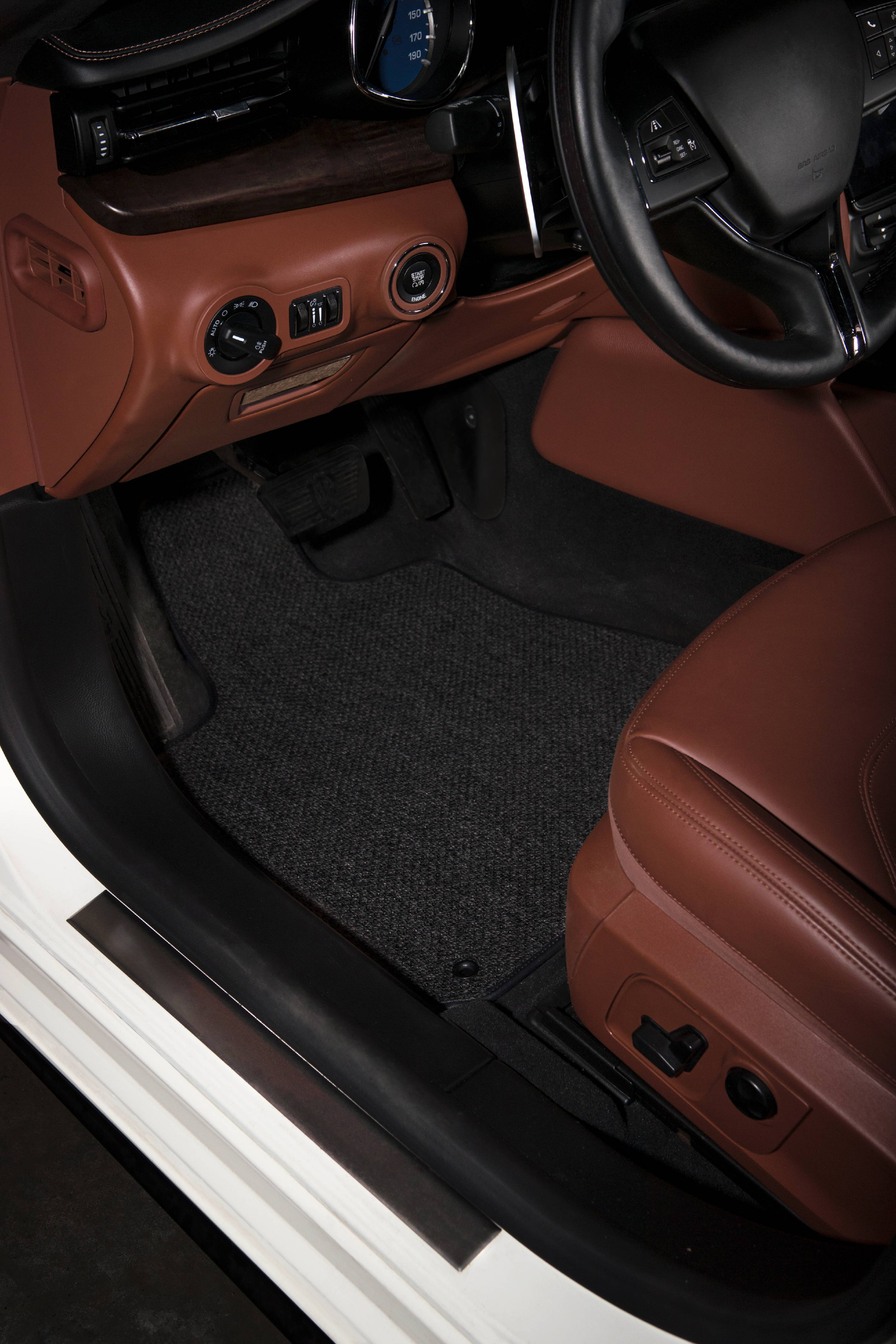 GGBAILEY Black Oriental Driver Passenger /& Rear Floor Mats Custom-Fit for Ford F-250 Super Duty Crew Cab 2017-2019