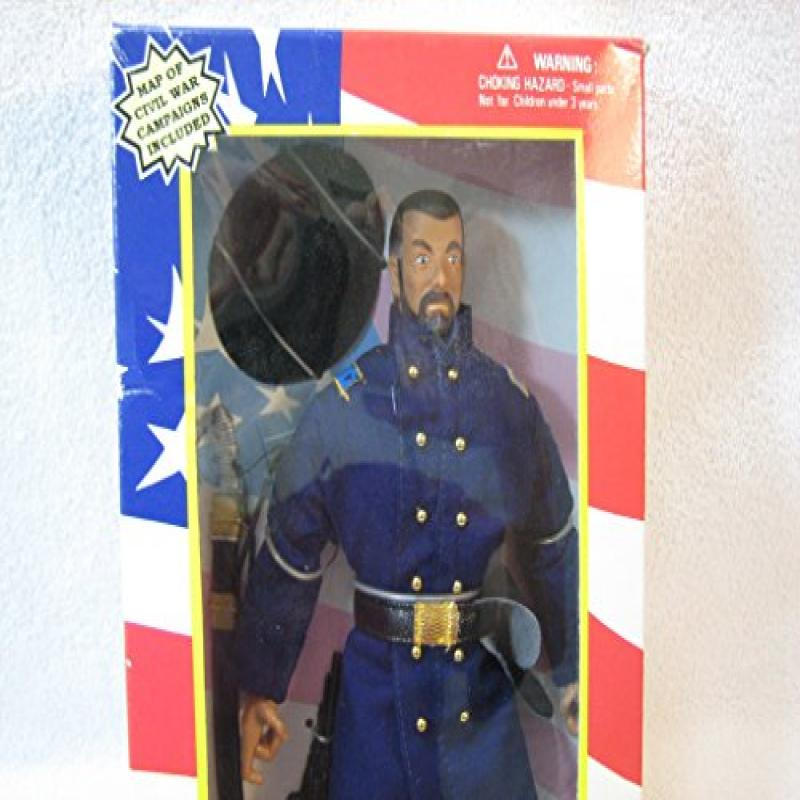 """Soldiers of the World Civil War Lt. General 12"""" Figure"""