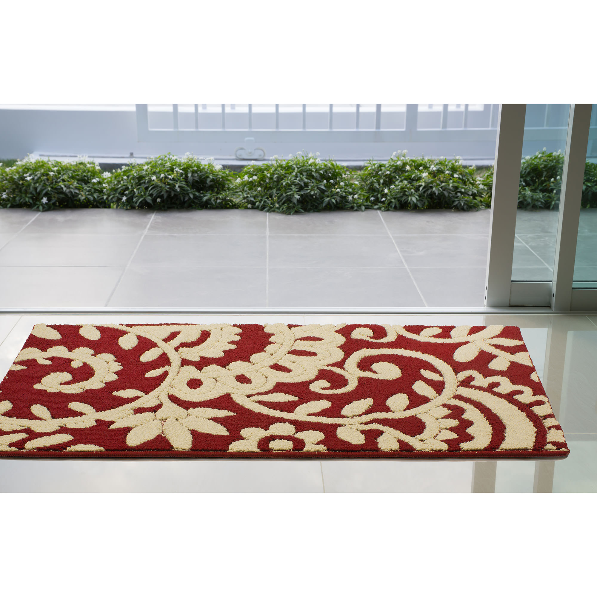 Jean Pierre Adele 30 x 50 in. Loop Accent Rug, Barn/Berber