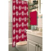 NCAA University of Alabama Shower Curtain, 1 Each