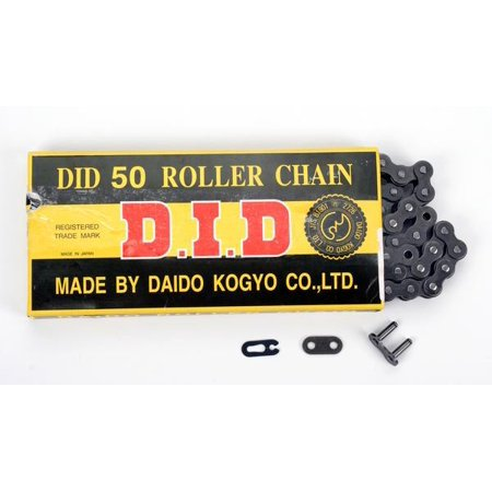 D.I.D 530 STD Standard Series Non O-Ring Chain Natural 130 Links  D18-531-130