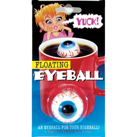 Loftus Creepy Floating Eyeball Halloween Decoration Prop, Blue - Blinking Halloween Eyeballs