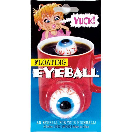Loftus Creepy Floating Eyeball Halloween Decoration Prop, Blue - Monster Eyeballs Halloween Treat Recipe