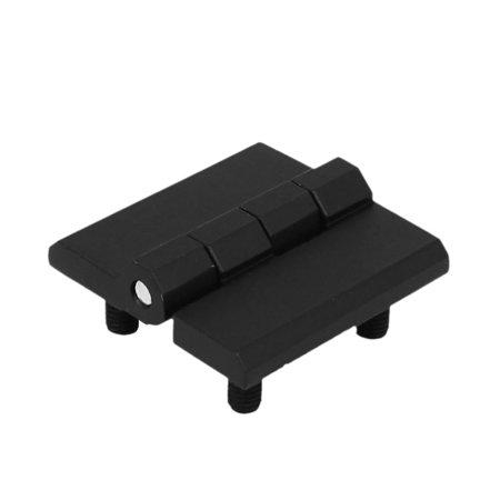 Home Office Zinc Alloy Door Bearing Butt Hinge Black 40Mmx40mmx10mm