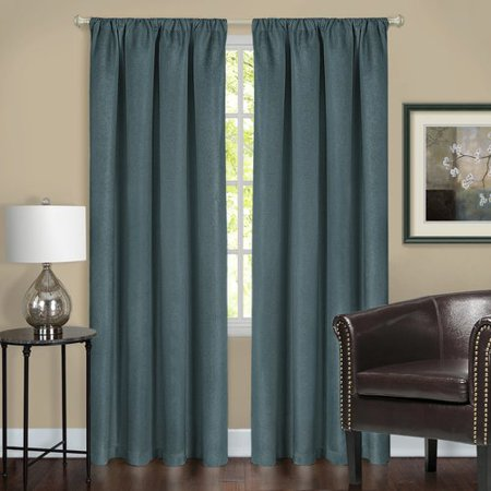 Red Barrel Studio York Solid Blackout Rod Pocket Single Curtain