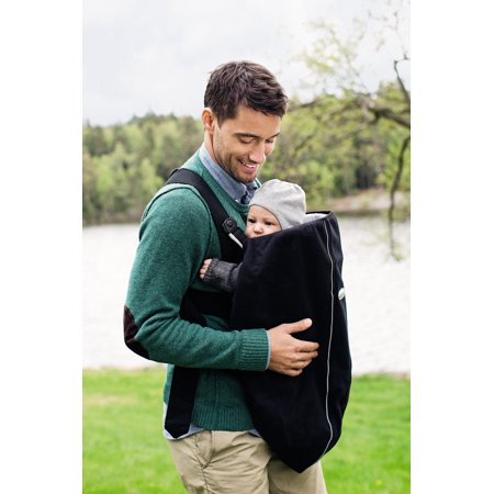 8d68cb80f4f BabyBjorn Cover for Baby Carrier - City Black - Walmart.com