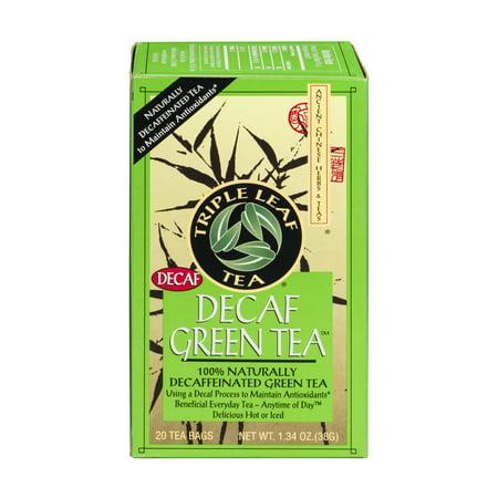 Triple Leaf Tea Decaf Green Tea - 20 CT20.0 CT