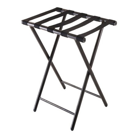 Winsome Tavin Metal Luggage Rack, Antique - Large Luggage Rack