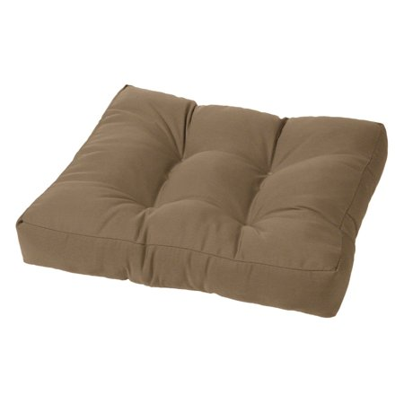 Cushion Source 21 x 17 in. Solid Sunbrella Ottoman Cushion