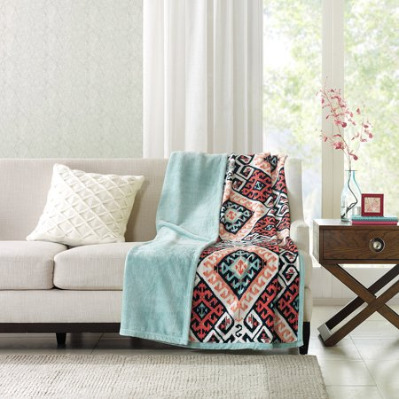 Better Homes And Gardens Reversible Throw Blanket