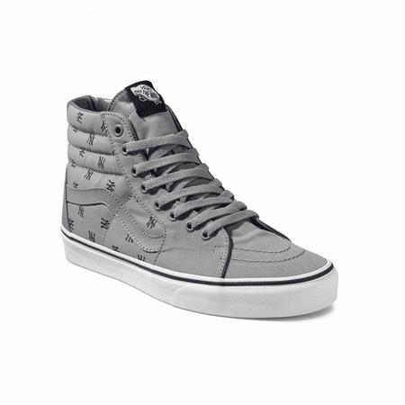 2c6ee07cff Vans - Vans SK8 Hi MLB New York Yankees Grey Men s Classic Skate Shoes Size  10.5 - Walmart.com