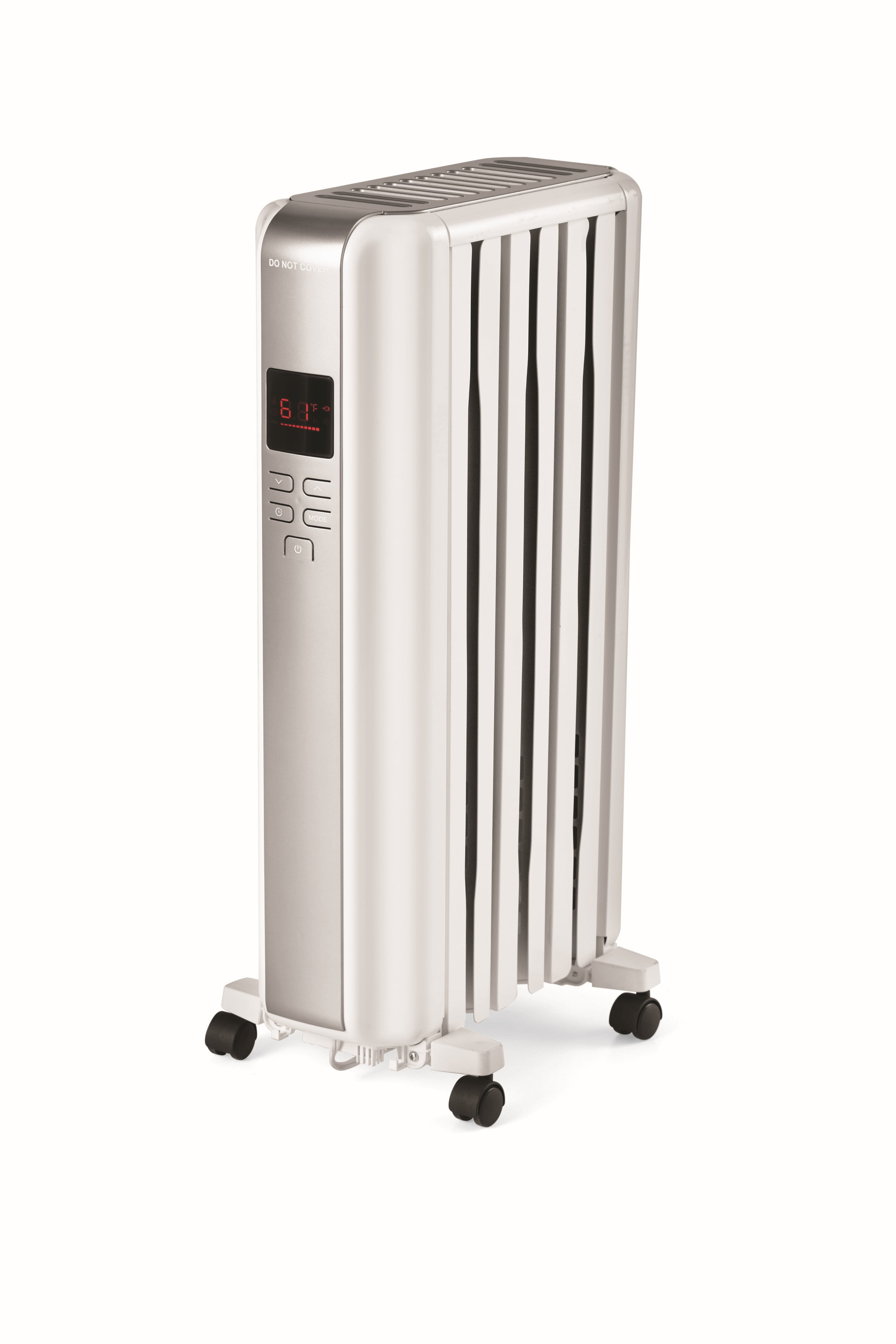 Mainstays Digital Radiator Heater, White, NY1506-18SRA - Walmart.com