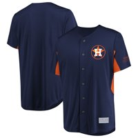 Men's Majestic Navy Houston Astros Champion Choice Jersey