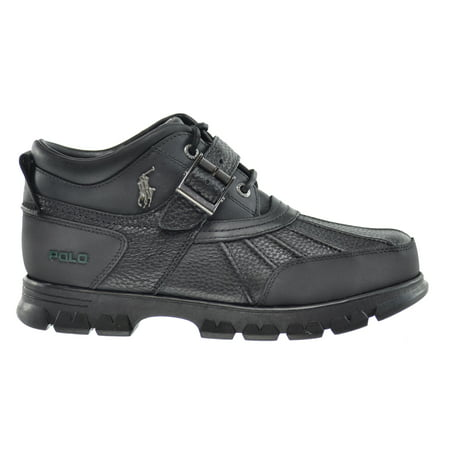 Polo Ralph Lauren Black Label (Polo Ralph Lauren Dover III Mens Boots Briarwood Black 8121682223h2)