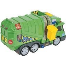 Fast Lane Lights And Sounds 6 Inch   Garbage Truck Toysrus Exclusive