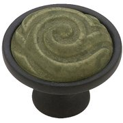 Liberty 35mm Ceramic Totem Knob, Available in Multiple Colors