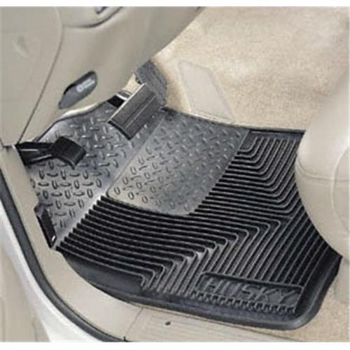 HUSKYLINER 51111 Heavy Duty Floor Mat, Black - Rubber