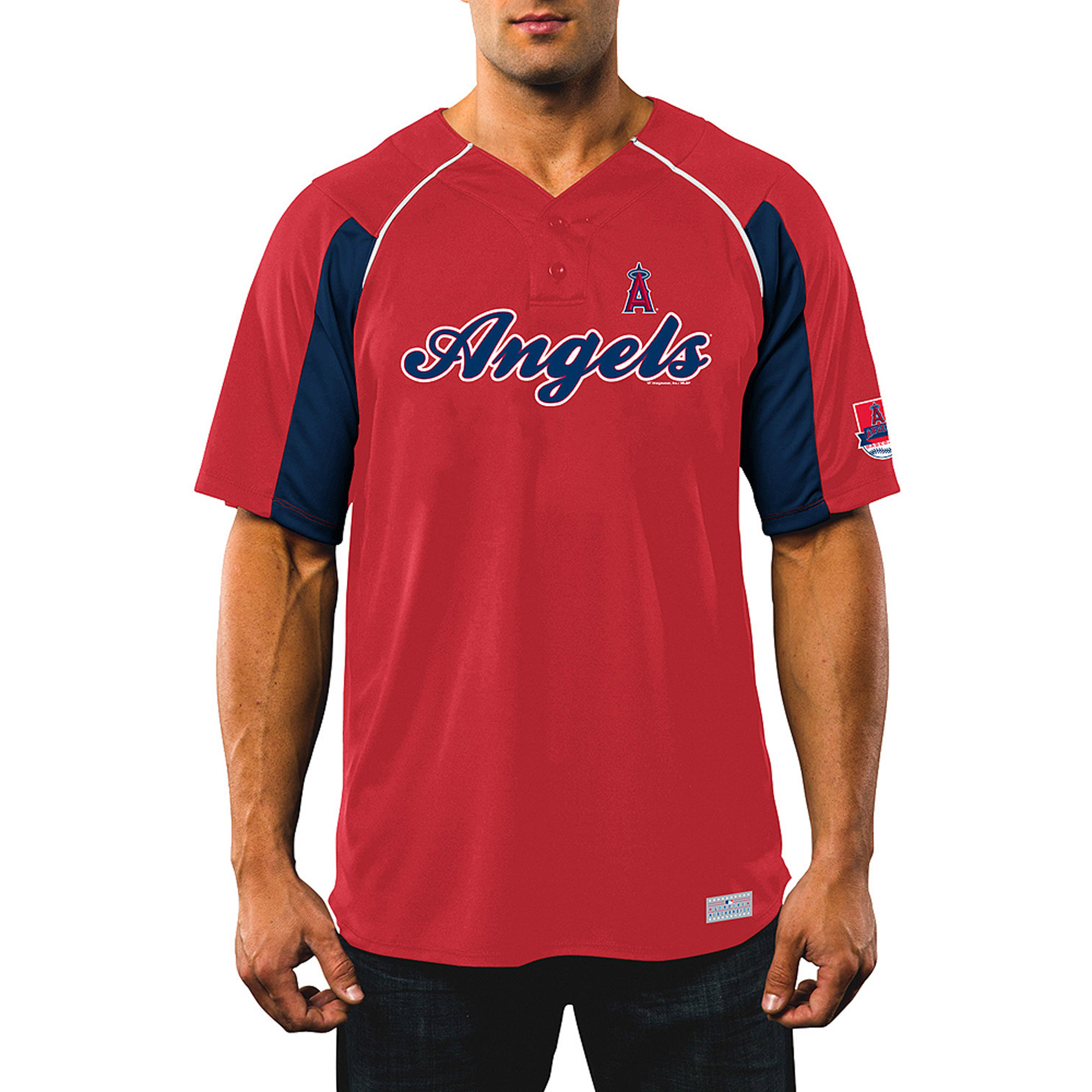 MLB Men's Los Angeles Angels Of Anaheim Mike Trout Player Jersey