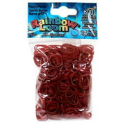 Rainbow Loom Pearl Sparkle Maroon Rubber Bands Refill Pack [600 ct]
