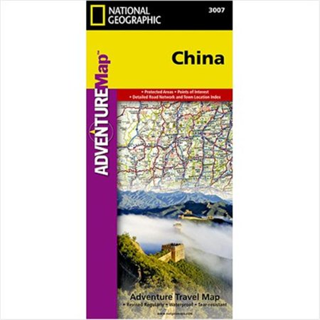 National Geographic Cartes AD00003007 Chine Adventure Map - image 1 de 1