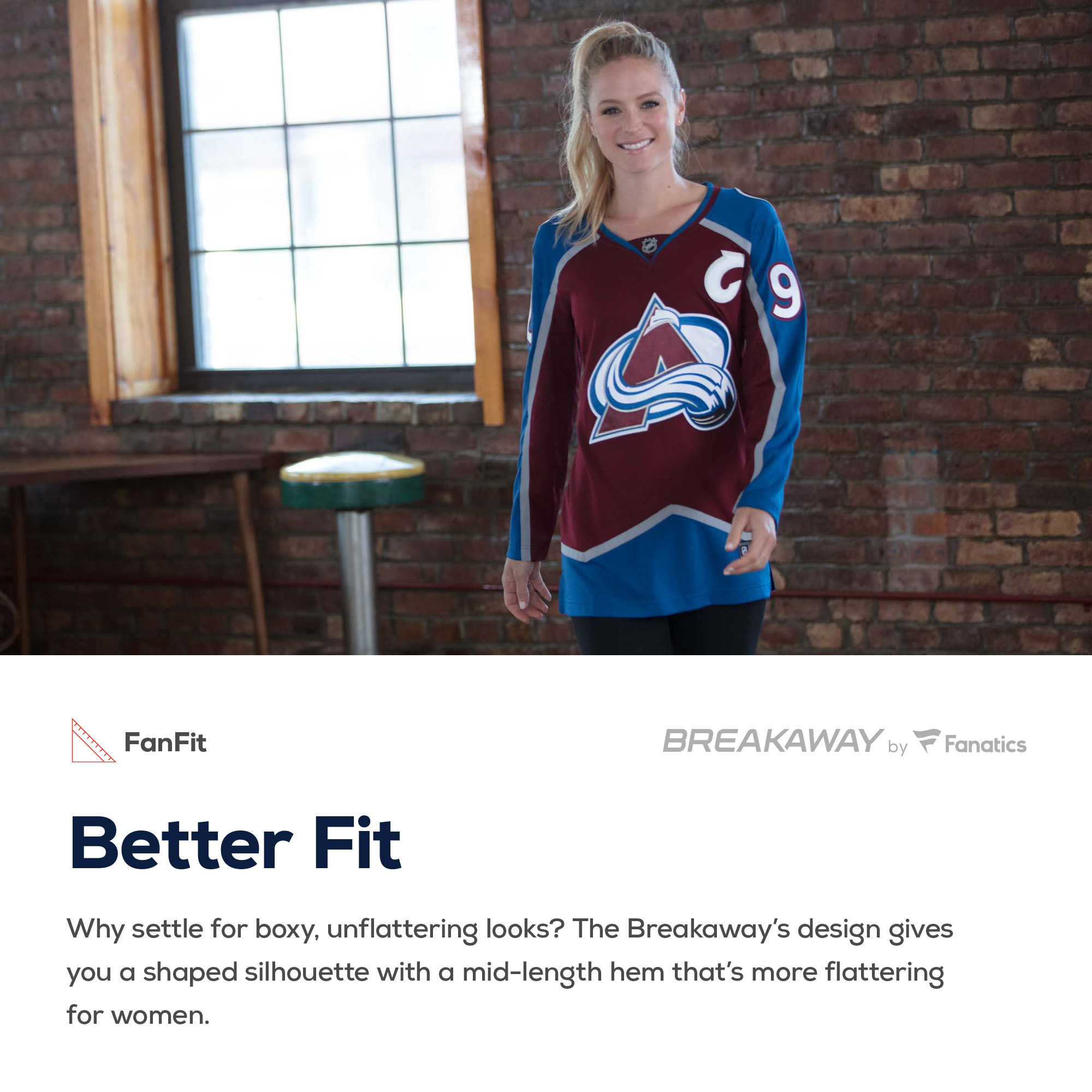 Tyson Jost Colorado Avalanche Fanatics Branded Women s Breakaway Player  Jersey - Burgundy - Walmart.com 19c45f288