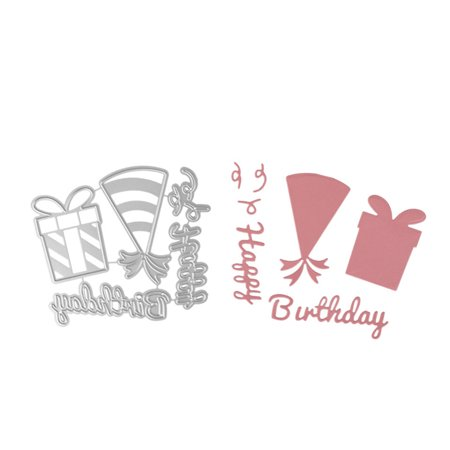 Birthday Theme Carbon Steel Cutting Dies Set Knife Mold Stencils DIY Scrapbooking Die Cuts Decor Crafts Embossing Templates Art Cutter - image 3 of 6