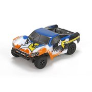 ECX 00014T1 1/24 Torment 4wd Short Course Truck: Black/Orange Ready-to-Run
