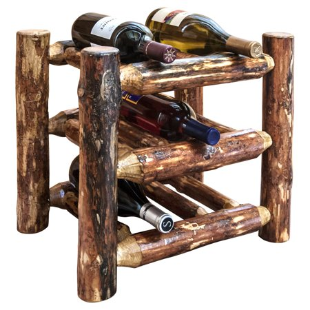 Montana Woodworks Glacier Country Countertop Wine Rack Walmartcom