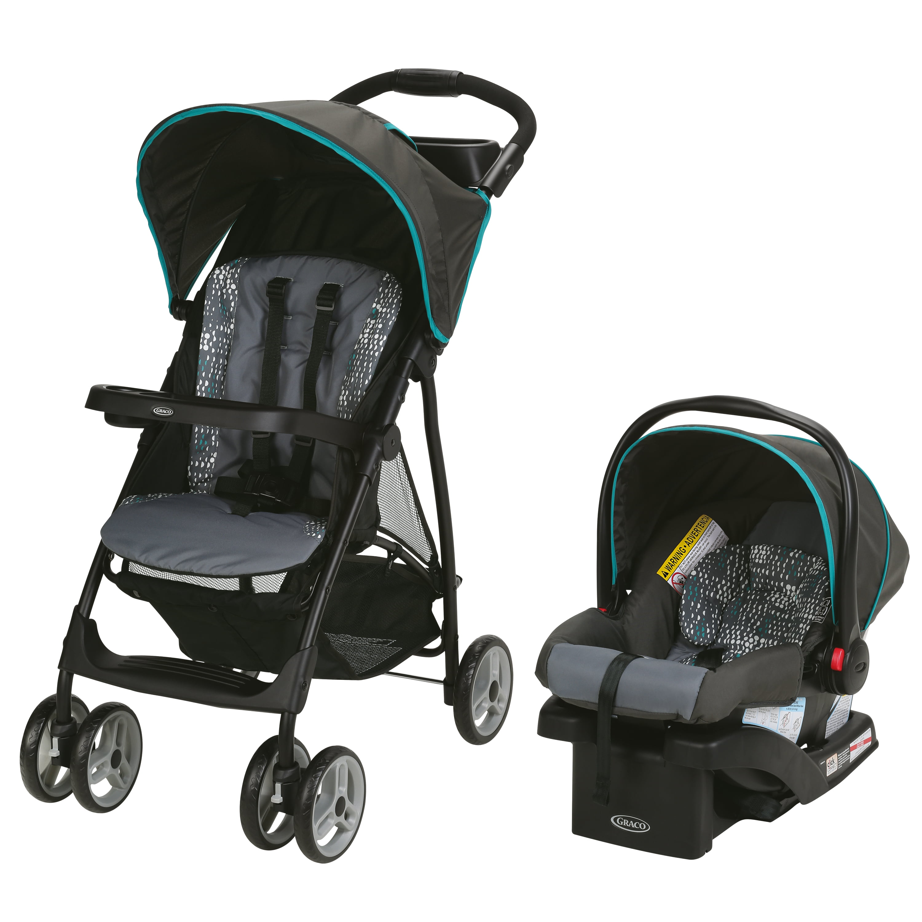 Graco LiteRider LX Travel System, Rille by Graco