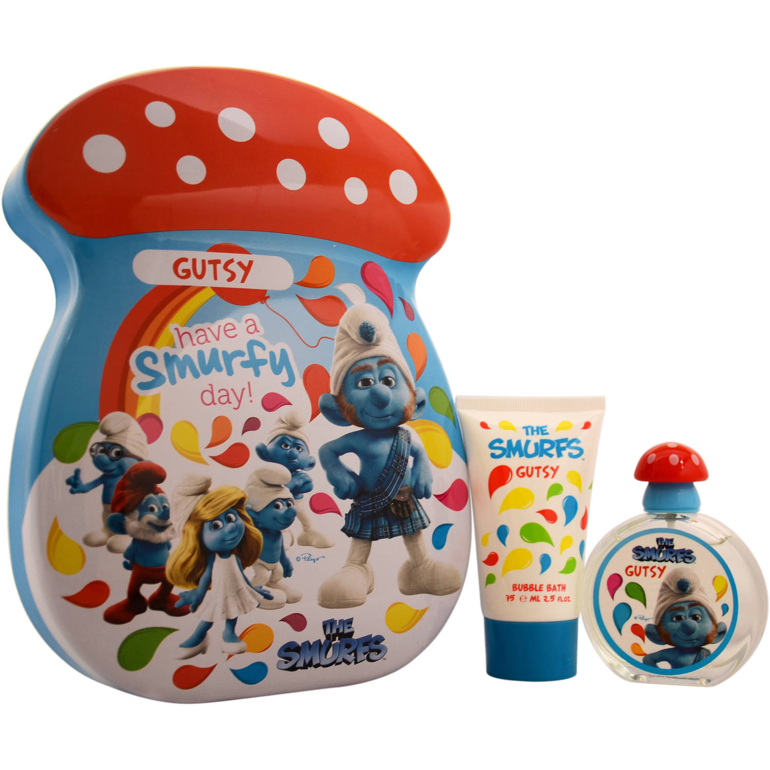 First American Brands The Smurfs Gutsy Gift Set, 2 pc