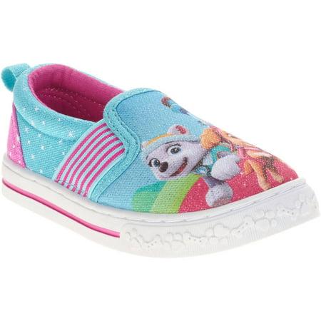 paw patrol  toddler girls' casual shoe  walmart