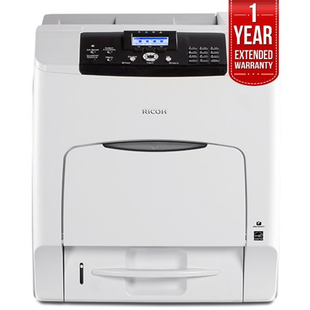 Ricoh (407773) C440DN Color Laser Printer + 1 Year Extended