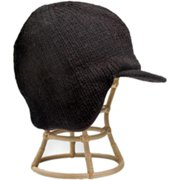 Nirvanna Designs CH87 Black Sherlock Hat with Fleece