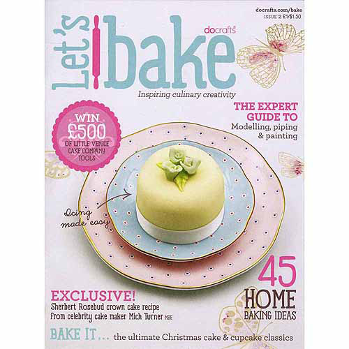 Docrafts Little Venice Cake Company Culinary Booklet, Let's Bake