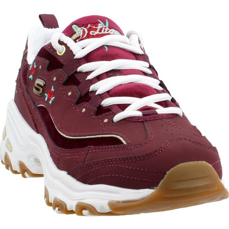 7a3e25a9da86 Skechers - Skechers Womens D lites Rose Blooms Athletic   Sneakers -  Walmart.com