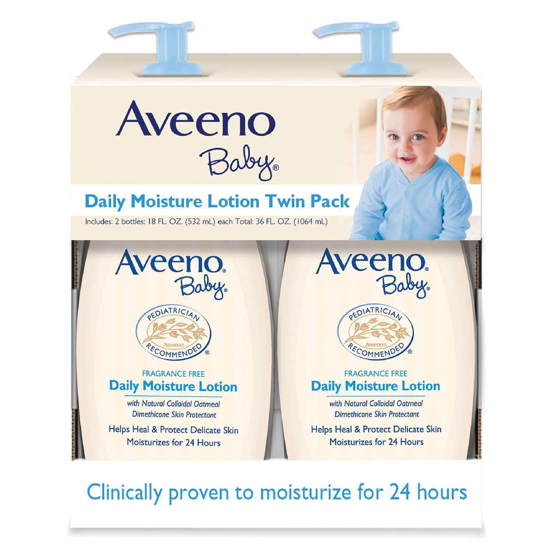 Aveeno Baby Daily Moisture Lotion (18 fl. oz., 2 pk.) by Aveeno
